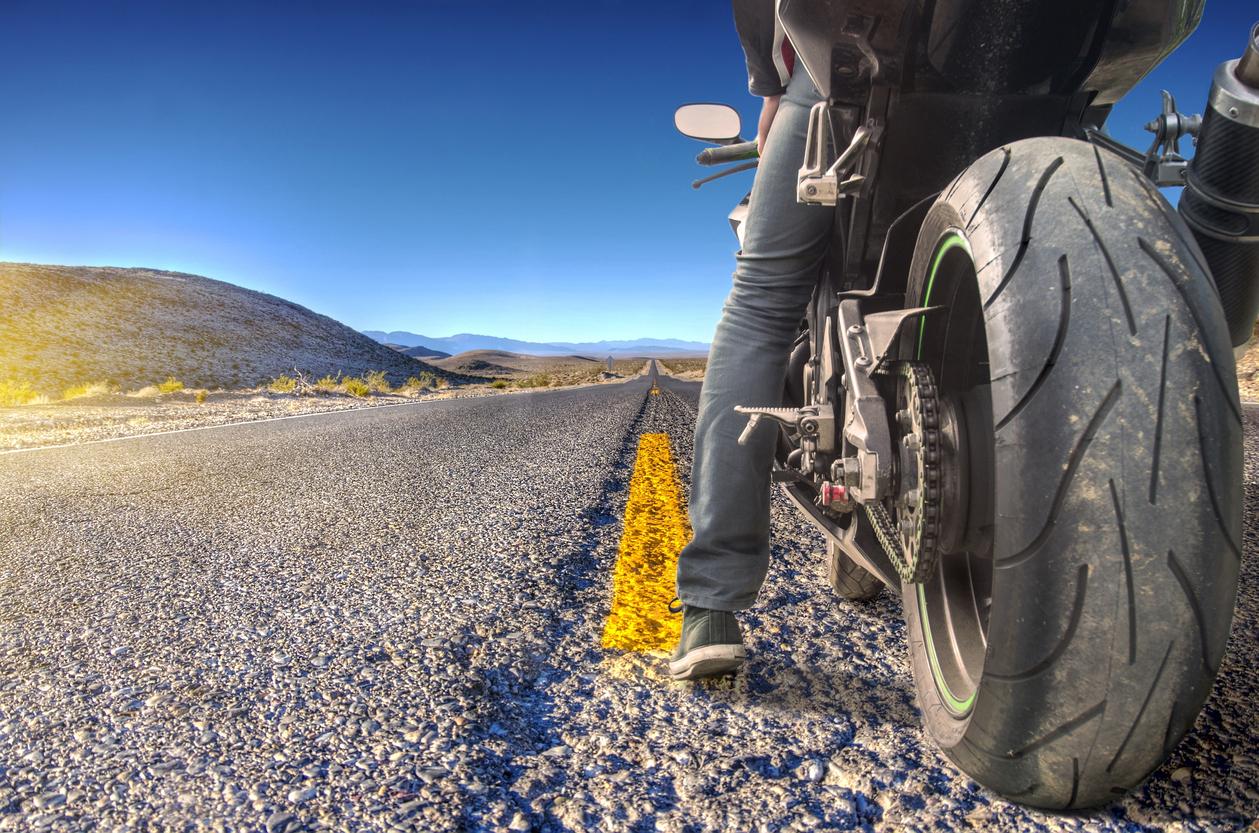 Information om motorcyklar på nätet