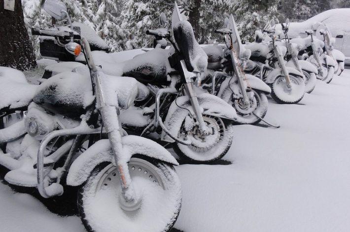 Vinterförvaring av din motorcykel